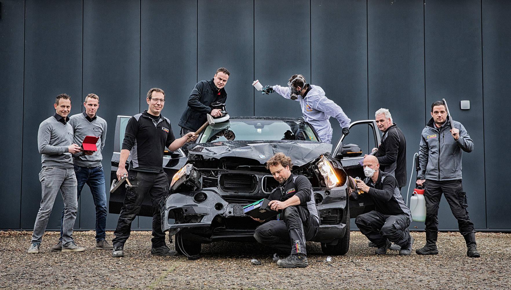 Koops autoschade in Borger: dé autoschade herstel specialist van het Noorden